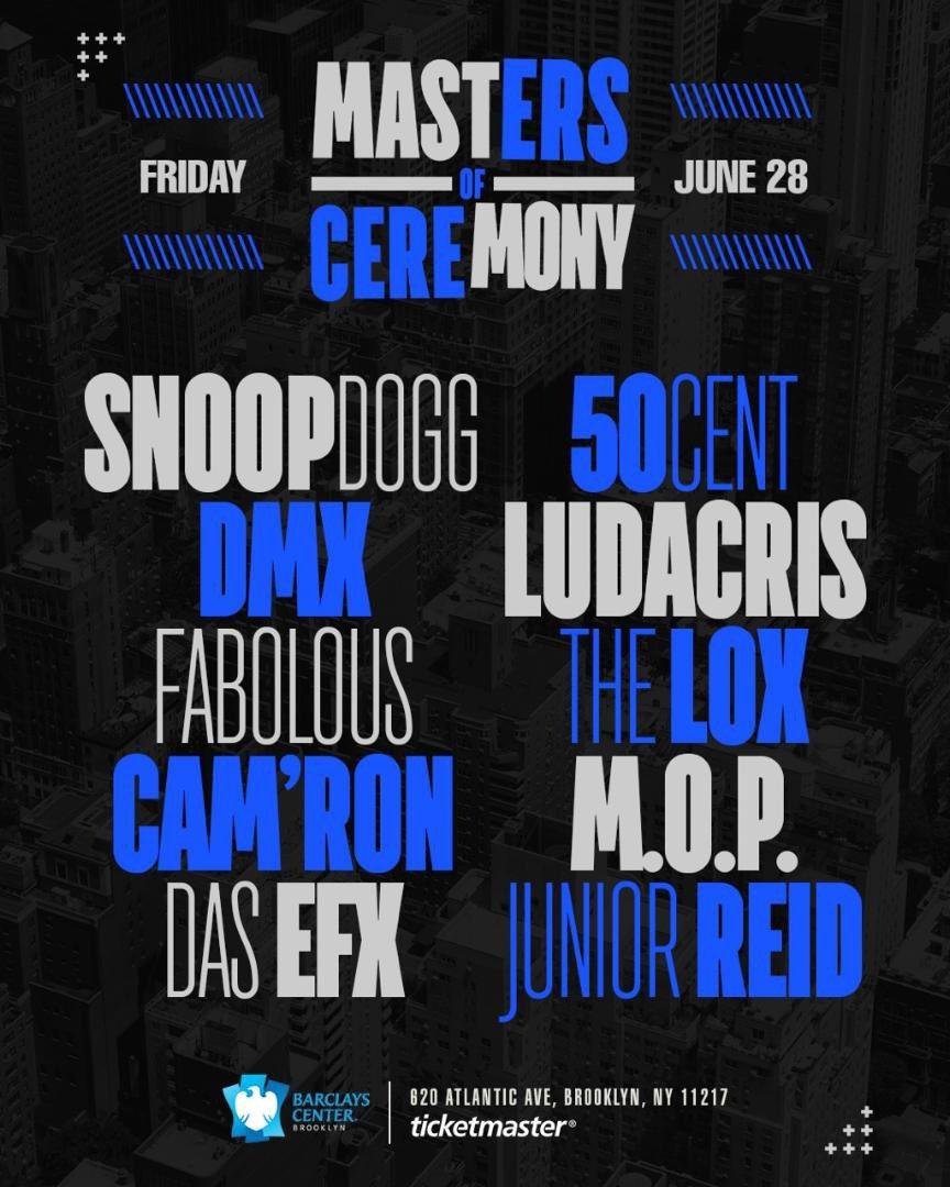 Masters of Ceremony ✨ Brooklyn June 28 ! tix on sale tomorrow https://t.co/xzoCak5tux