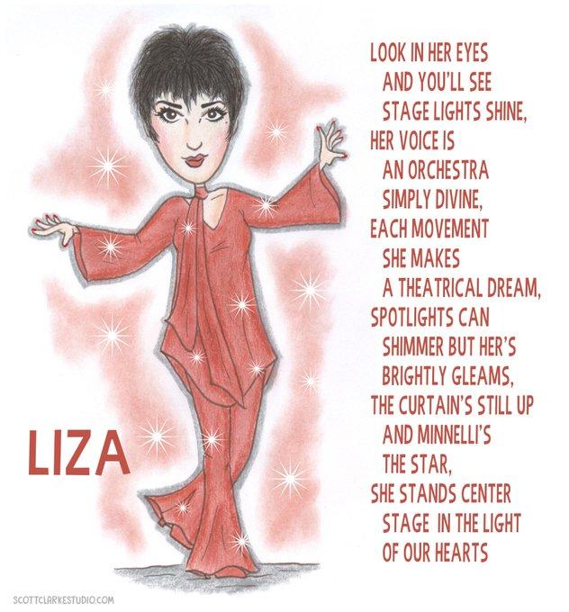 Happy Birthday Liza Minnelli! Liza-toon!