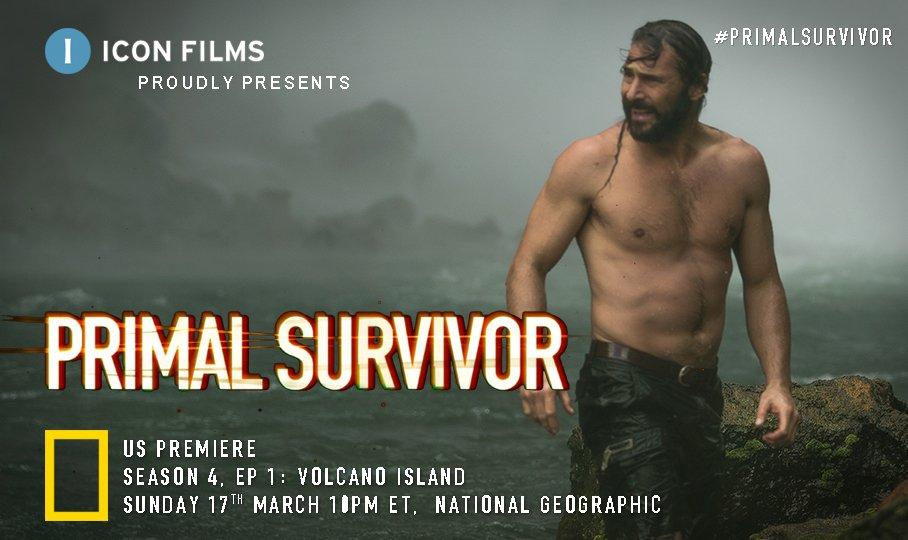 Tune in #USA. The next season of @HazenAudel #PrimalSurvivor kicks off Sunday 17 March 10pm ET. Watch him battle through jungle & climb a fiery volcano to join Salkon hunters in #Vanuatu @NatGeoChannel  @NatGeo https://t.co/NSLcsdRyMQ