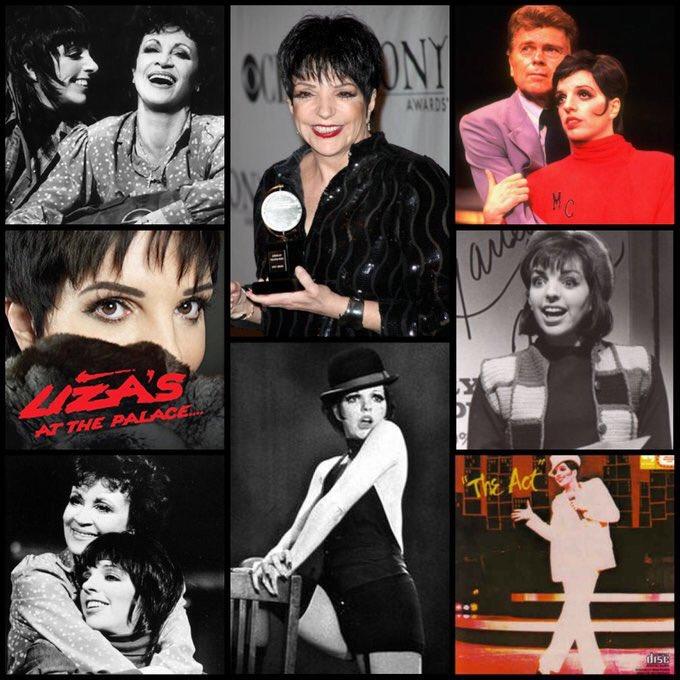 It s Liza s Birthday! Happy Birthday to winner and Broadway icon Liza Minnelli!