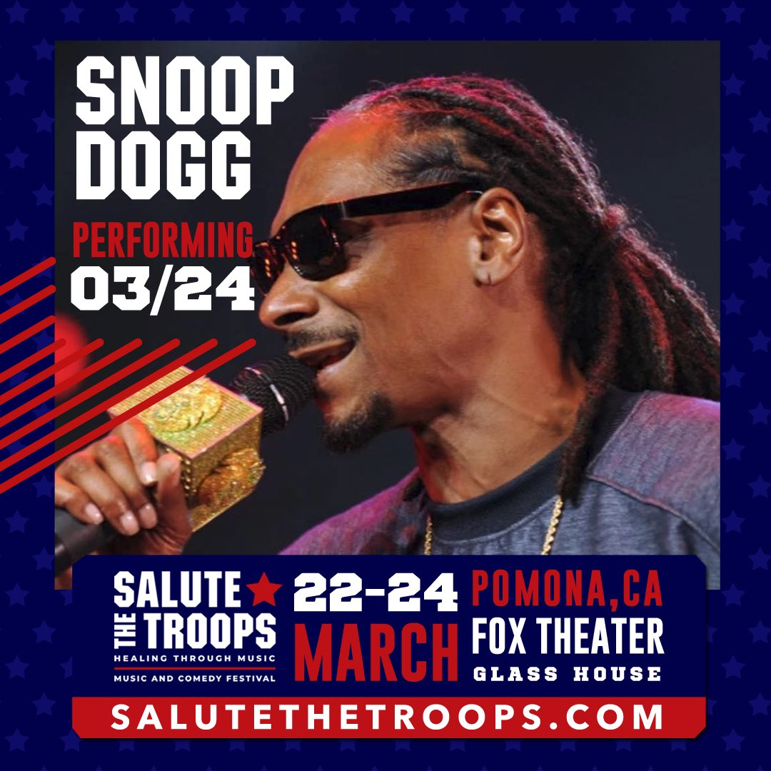 I'll be live at #salutethetroops festival  Saturday 3/23. Get your tix at https://t.co/fKAkrhb5xO https://t.co/E2fn4EQYGX