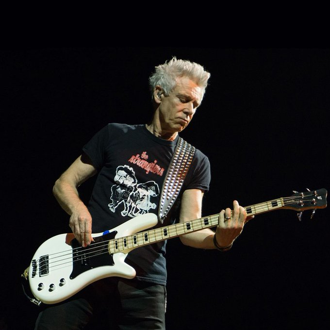 HAPPY BIRTHDAY to Mr Adam Clayton from ! Have a brilliant day !