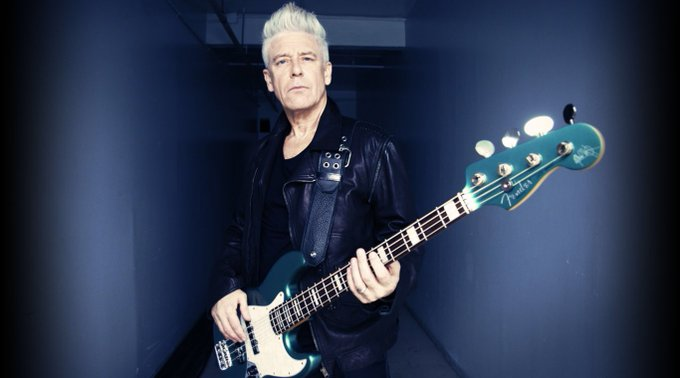 Happy Birthday mr. Adam Clayton!   May we all get older as good looking as he does!