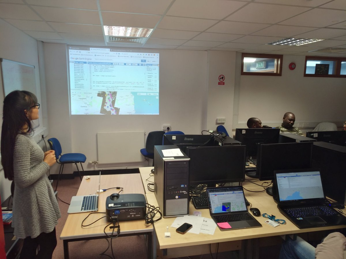 test Twitter Media - RT @gaxiuer: Project BRECcIA training on google earth engine. @GCRF_BRECcIA @JulieDReeves @jadudash https://t.co/ZHeMsmhpCd