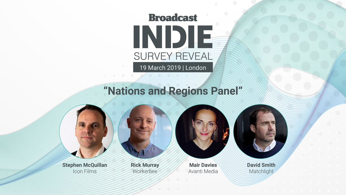 We're looking forward to next weeks #IndieSurvey Reveal with @iconbristol's Stephen McQuillan, @ricmurray, @matchlight1's David Smith & @avantitv's Mair Davies on the Nations and Regions panel! Register your interest to attend: https://t.co/ZPEl47xOd9 https://t.co/ParHmxxrVc
