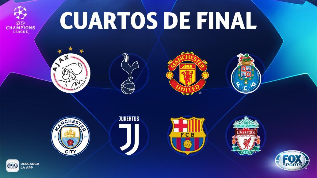 Champions League: ¡ACÁ ESTÁN, ESTOS SON! | Los ocho equipos que ...