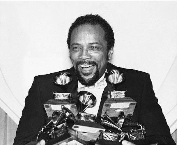 Happy Birthday to the legendary Quincy Jones