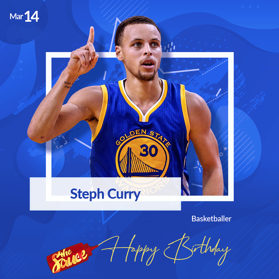 Golden State Warrior baller Wardell Stephen Curry turns 31!   Happy birthday to six-time NBA All-Star.