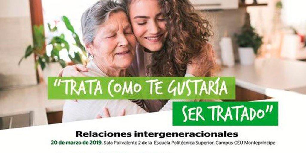 """test Twitter Media - ⏰¡Últimos días para inscribirse a la jornada sobre relaciones intergeneracionales del ciclo """"Trata como te gustaría ser tratado""""! 📆El 20 de marzo, en el CEU Montepríncipe de Madrid.  Inscripción gratuita ➡https://t.co/w8TkDMd8go  #AESTEinforma @FundlaCaixa  @ComunidadMadrid. https://t.co/ltRAEsV7Lt"""