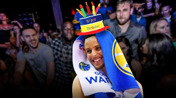 HAPPY BIRTHDAY TO YOUR IDOL MR. STEPHEN CURRY!