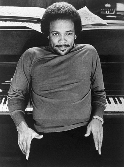 Happy 86th birthday to Quincy Jones!