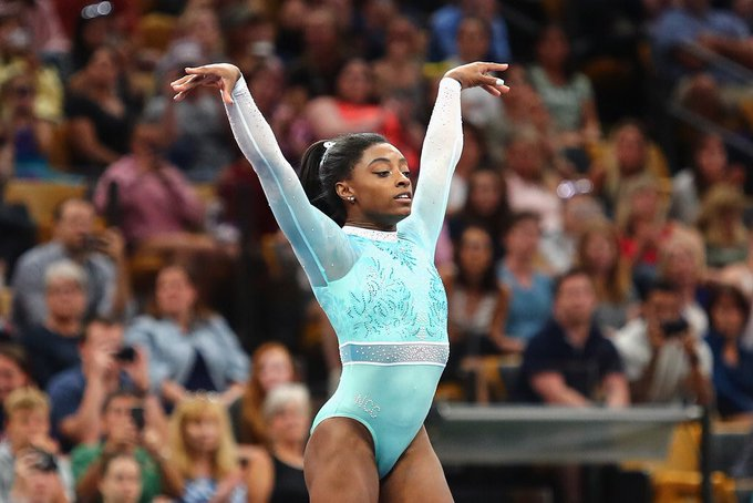 Happy 22nd Birthday to Simone Biles
