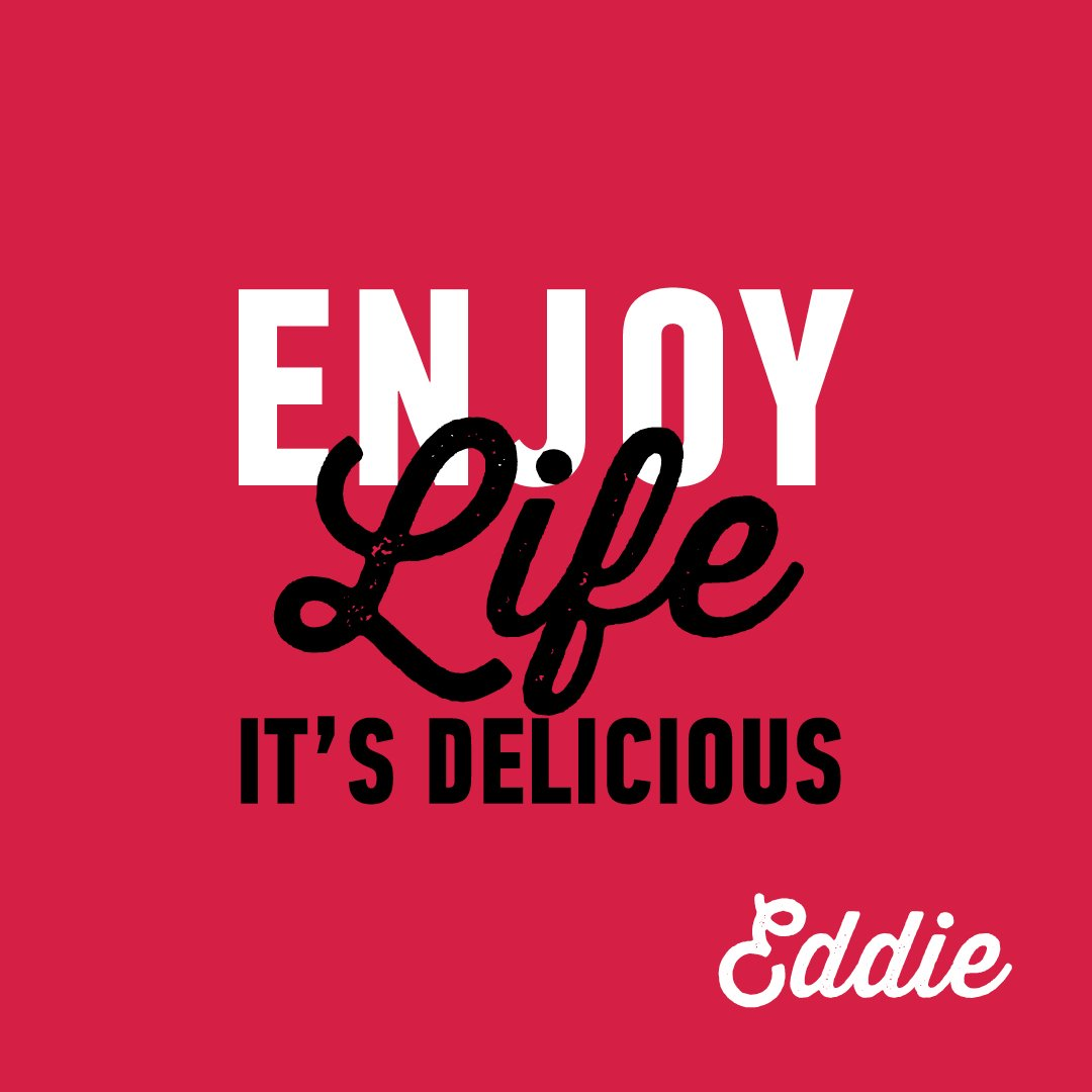 A great motto to live by, love Eddie xx https://t.co/z7rYiburSt