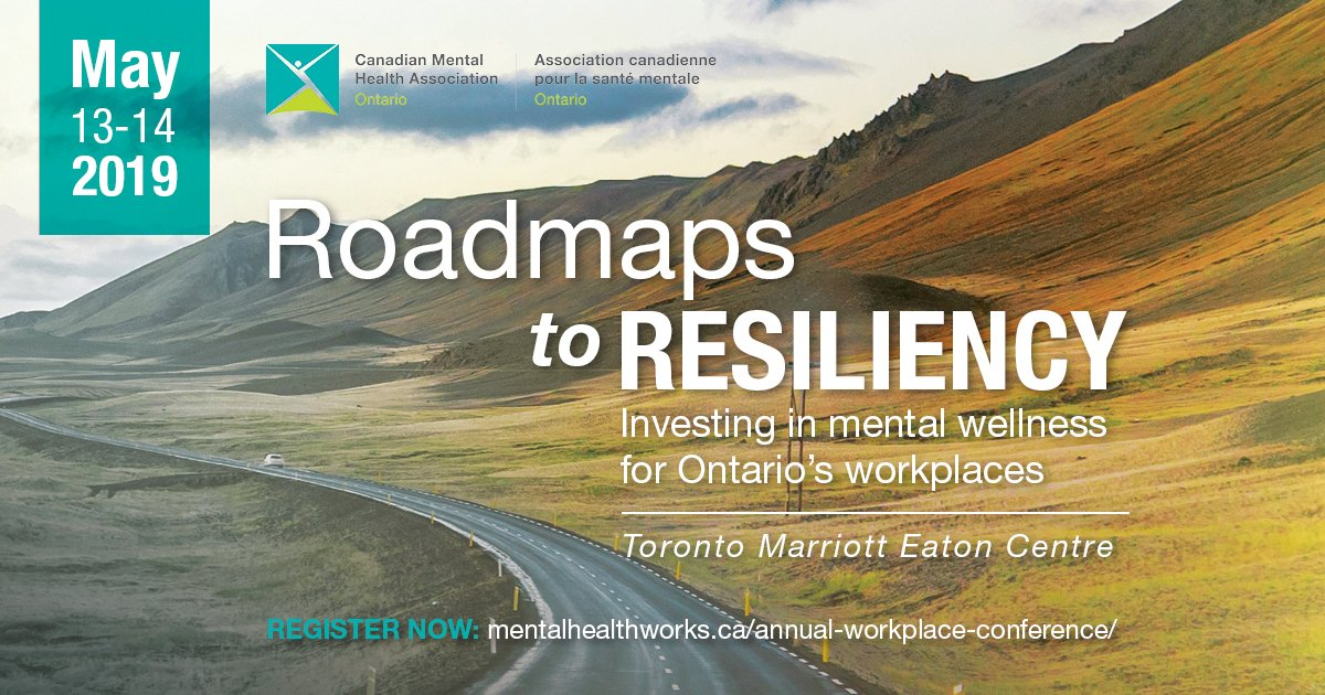 test Twitter Media - An upcoming conference by @CMHA_MHWorks could help you to build resiliency in your workplace.  Learn more and register: https://t.co/rk6ZSmW532 #MentalHealthAwareness #mentalhealth https://t.co/GFXblJ9hjO