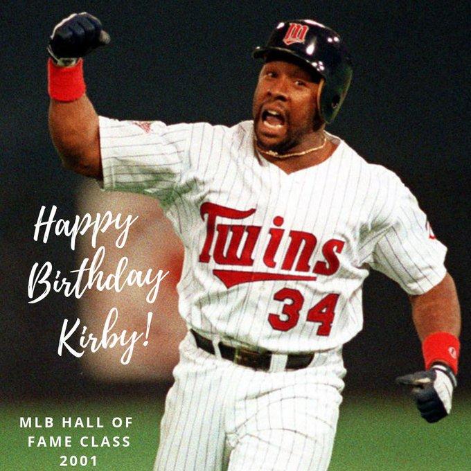 Happy Birthday to Hall of Famer, Kirby Puckett!