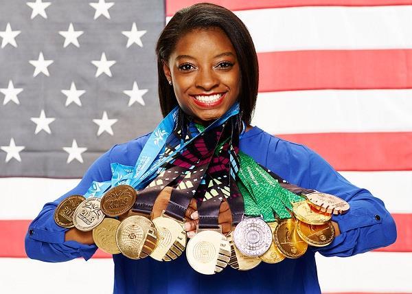 Happy birthday to Simone Biles, the most decorated U.S. gymnast ever (with or w/o the Swarovski).