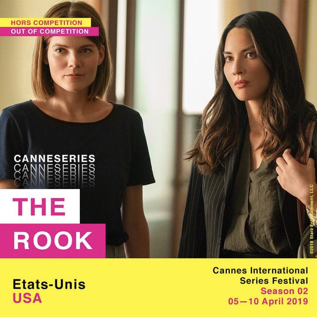 à bientôt! #TheRook #CANNESERIES @TheRookSTARZ @STARZ https://t.co/QtIwY6dIRv