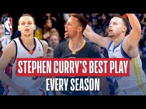 Happy Birthday : La meilleure action de chaque saison en carrière de Stephen Curry -