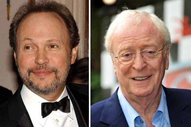 HAPPY BIRTHDAY !  Billy Crystal  and  (the great) Michael Caine !