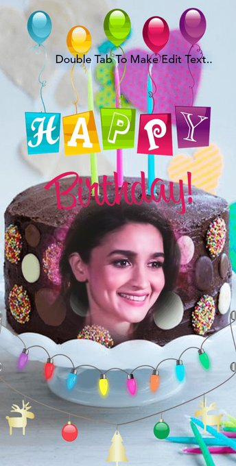 Happy birthday Bollywood queen Alia bhatt mam