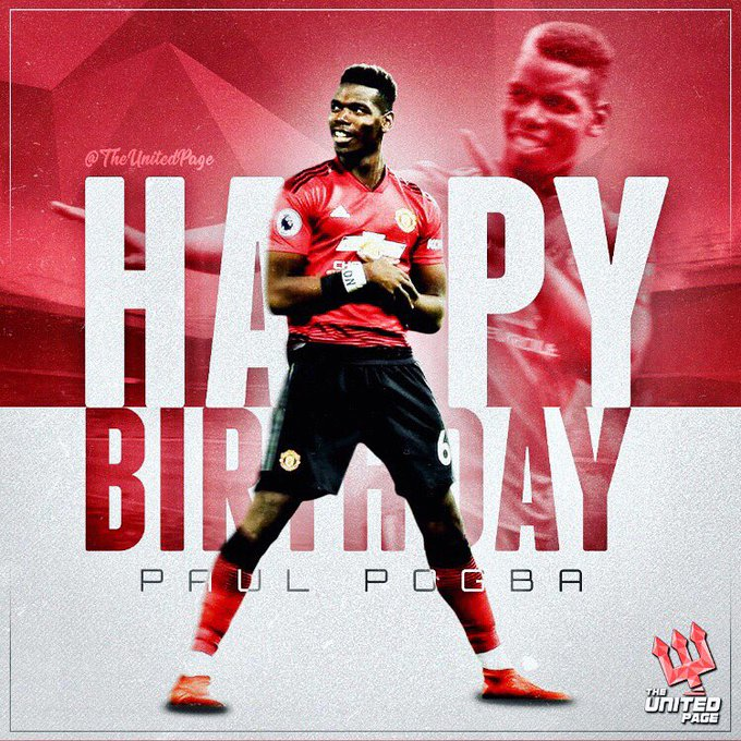 Happy 26th birthday, Paul Pogba! Is he the best midfielder in the world right now?