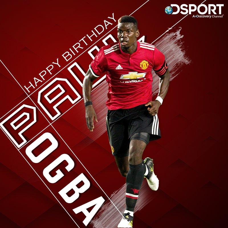 Happy 26th Birthday, Paul Pogba!