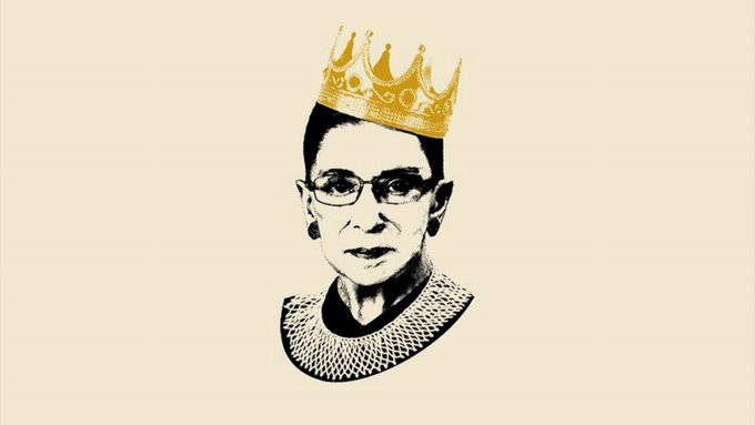 Happy Birthday to Justice Ruth Bader Ginsburg !