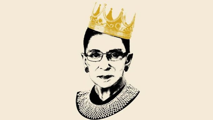 Happy Birthday Ruth Bader Ginsburg, stay notorious!