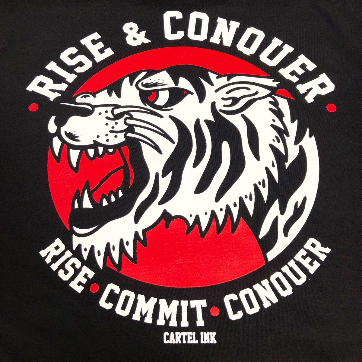 Rise and Conquer 🔥 Currently printing.... #RiseAndConquer https://t.co/1aXRLByhM7
