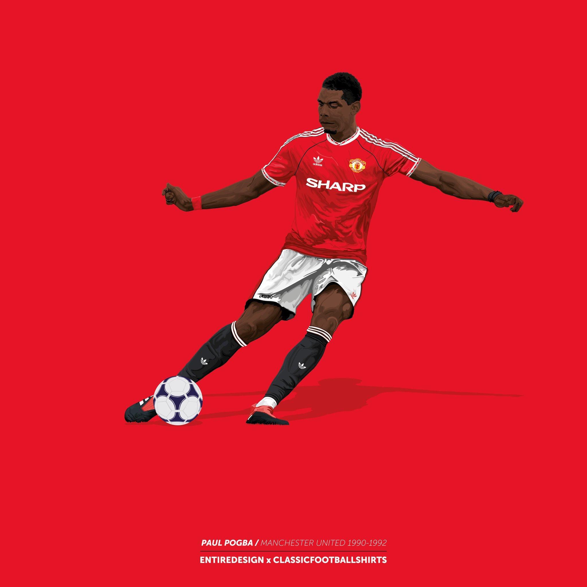 Happy Birthday Paul Pogba  Graphics by