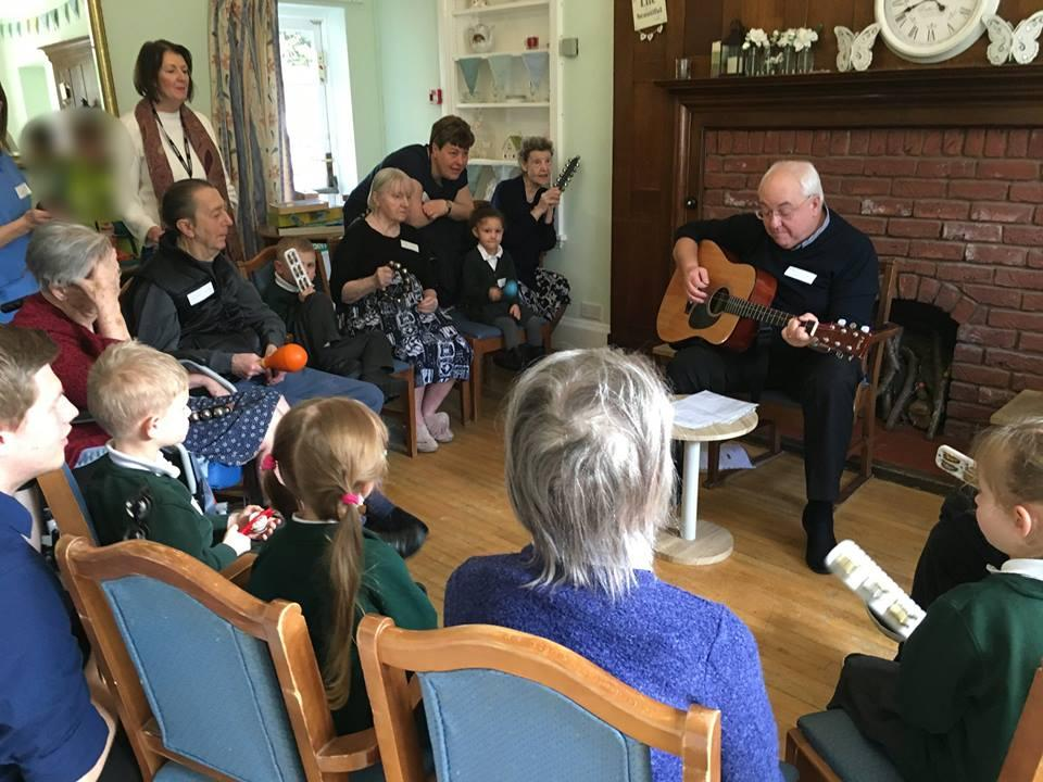 test Twitter Media - We had musical fun at Bournville Grange today! A musician came to play for us. He played lots of songs on his guitar. We all joined in using musical instruments & scarves. He even played our favourite, The Wheels on the Bus! @geri_baby @afatscientist @ABCDoes https://t.co/cb6ESYq828