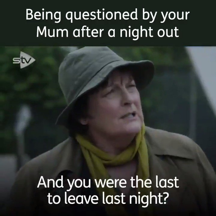😂 🕵️♀️Is your mum a professional detective too? #Vera  Series 10 Vera Box Set is now streaming on the STV Player.