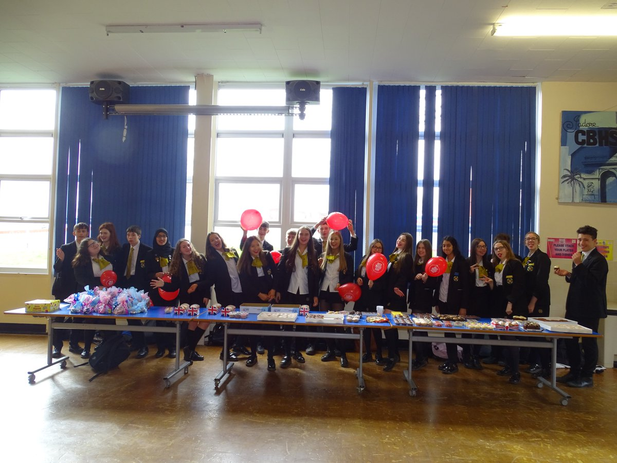 test Twitter Media - Staff and learners getting into the spirit of Red Nose Day - well done to the prefects who raised a fabulous amount of money with their cake sale #RedNoseDay2019 https://t.co/QXJHwVF7JL