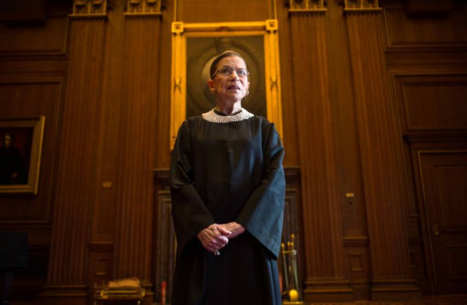 Today is Supreme Court Justice Ruth Bader Ginsburg\s 86th birthday. Happy birthday to a queen!