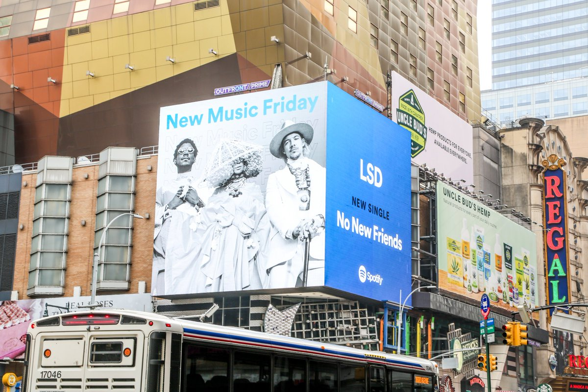 Some @Spotify #NMF love! Turn up