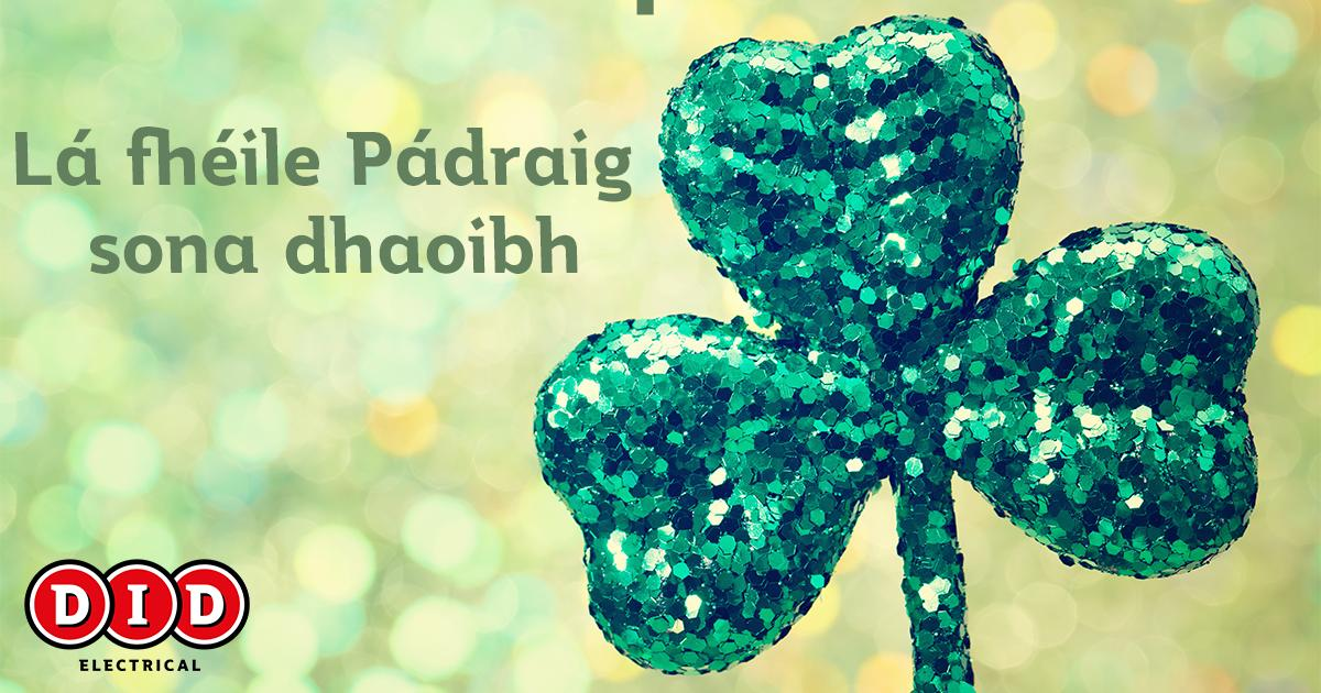 Wishing all of our customers a very happy #StPatricksDay https://t.co/vxIcXDXuwu