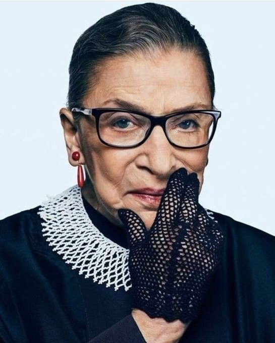 Happy Birthday Ruth Bader Ginsburg!!! The original badass and turns 86 today  Time Magazine