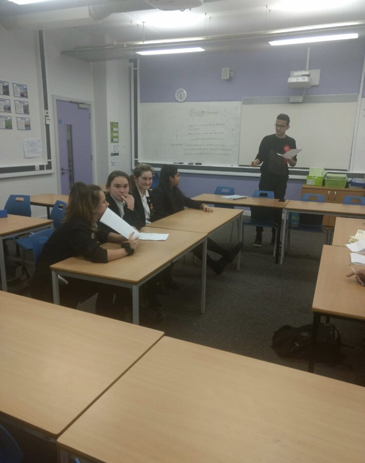 test Twitter Media - A few photos from the Debate Mate urban league round 2. Our fantastic team won 3 out of 4 debates at Walkden High School and are through to the next Debate Mate final at Manchester University in April. Well done to all who took part! 🏆🏅 https://t.co/NLGsj14BYg