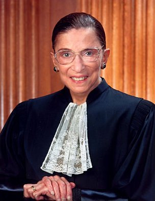 Happy Birthday, Ruth Bader Ginsburg, born March 15, 1933.  I d like to bring you a present.  Where can I find you??