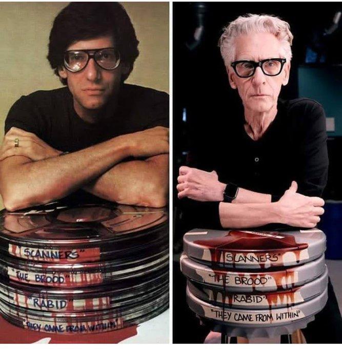 Happy birthday, Horror master David Cronenberg, and long live the new flesh