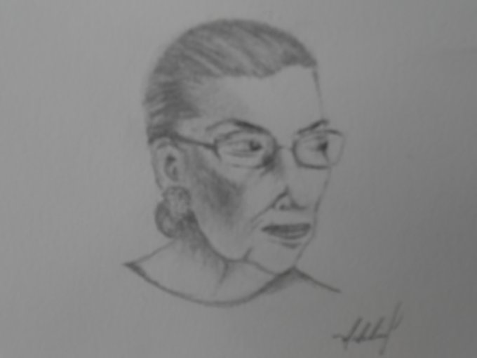 Happy Birthday to my Hero Ruth Bader Ginsburg