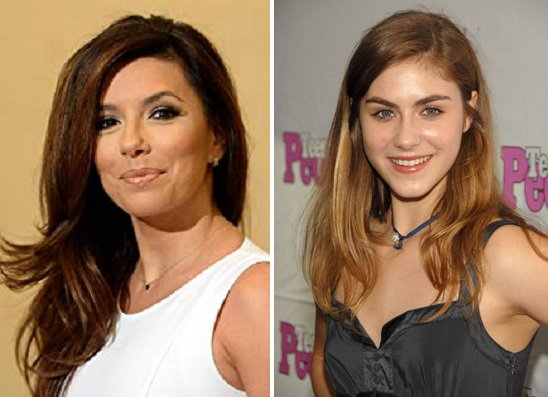 HAPPY BIRTHDAY !  Eva Longoria  and  Caitlin Wachs