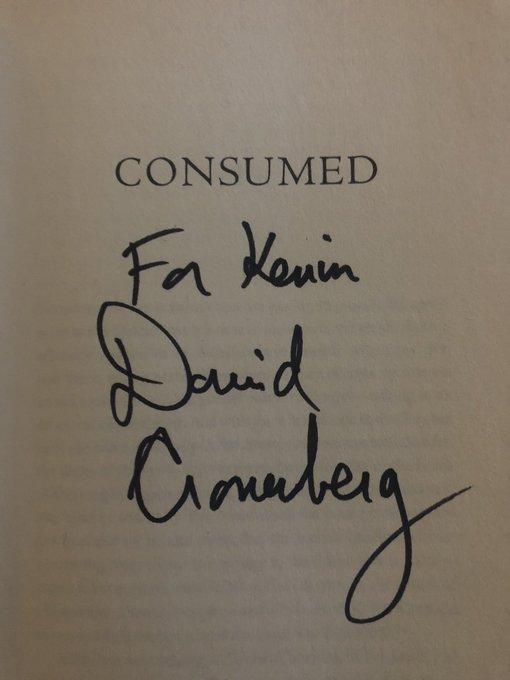 Happy Birthday to idol and absolute fucking legend David Cronenberg