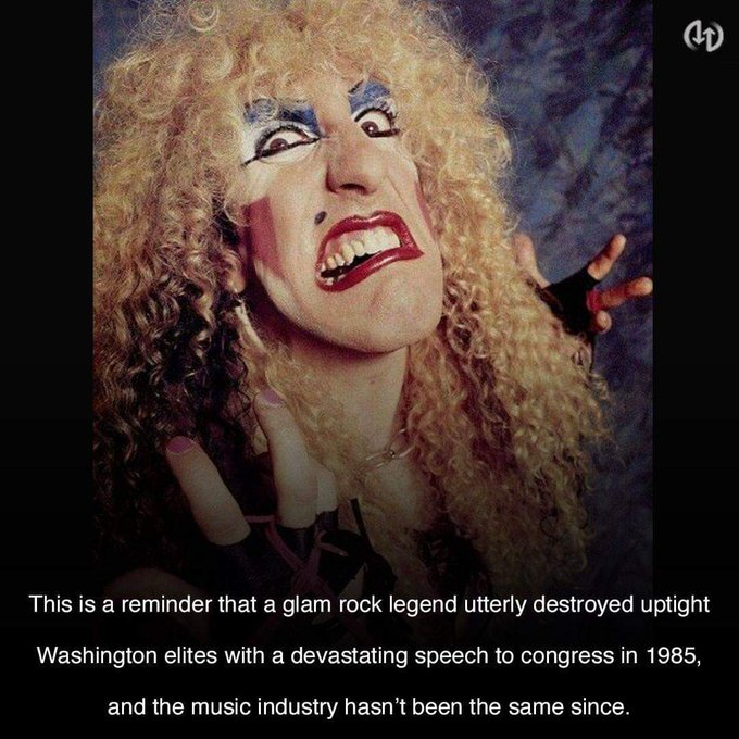 Happy 64th Birthday to Dee Snider of Twisted Sister