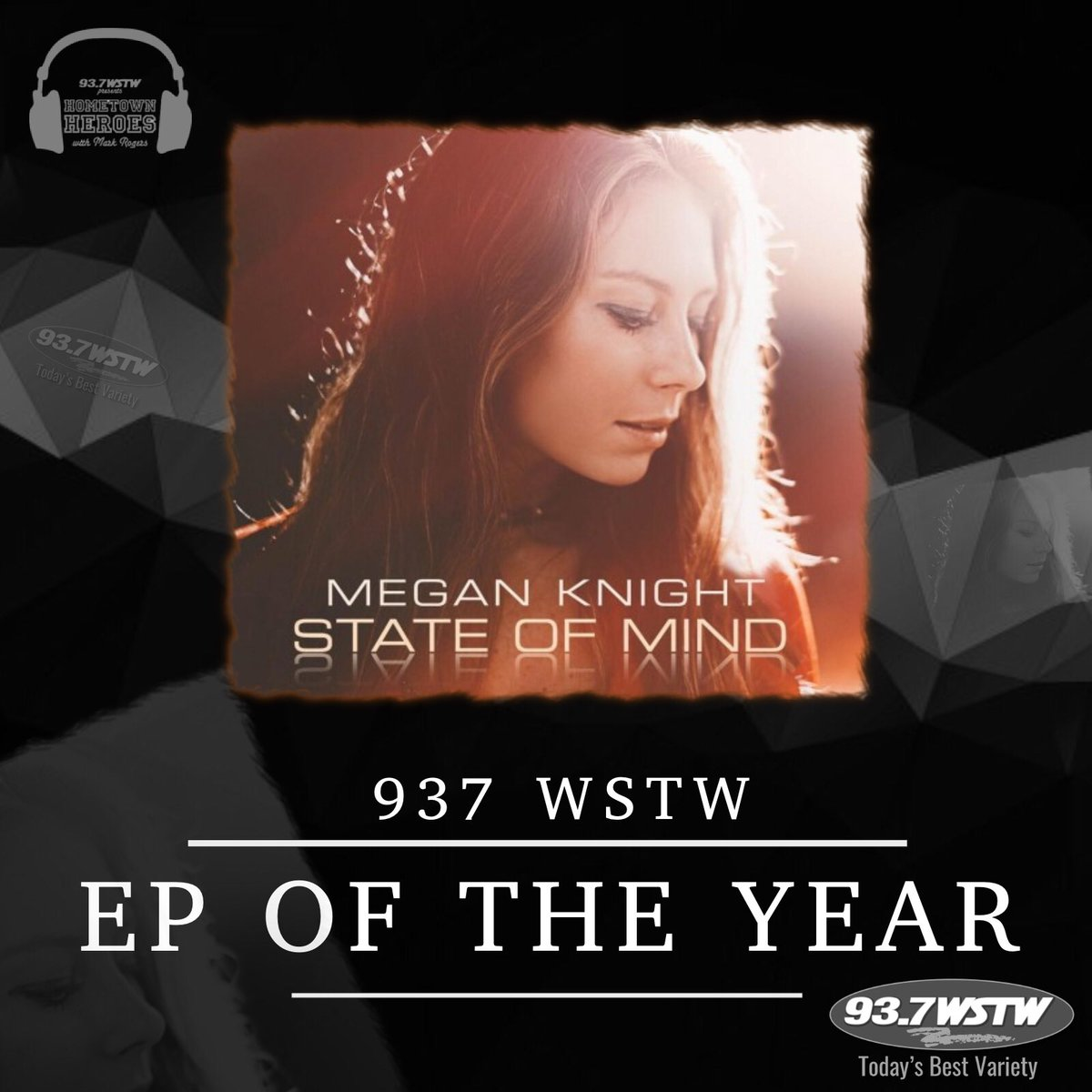 RT @meganknight20: So this happened!!! Thank you @937WSTW #EPoftheYear #awards #music #ThankYou #Blessed https://t.co/WEry6Pe8PX
