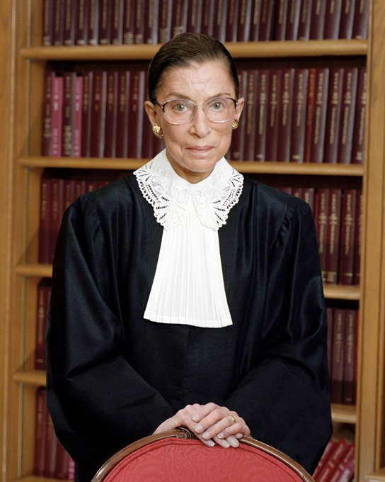 Happy 86th Birthday to our hero Justice Ruth Bader Ginsburg.