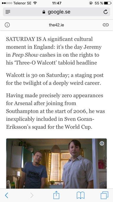 Happy birthday Theo Walcott!