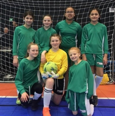 test Twitter Media - Honour for the girl football team to be at Birmingham Indoor 5aside final ON A SATURDAY for the first time ever. 1 loss 1 draw and 2 wins wasn't enough to get out the group. But we are proud. Thanks Mr O'Rourke. https://t.co/L3nuIxj7TB