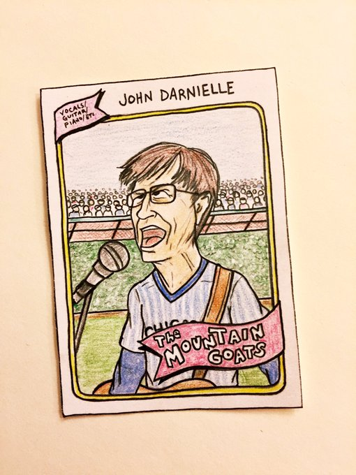 Happy birthday to John Darnielle of the Mountain Goats!