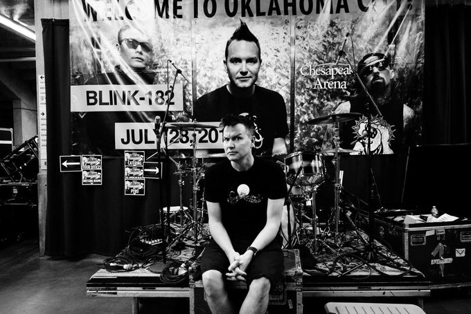What s his age again? As of today, it s 47. Happy birthday, MarkHoppus!